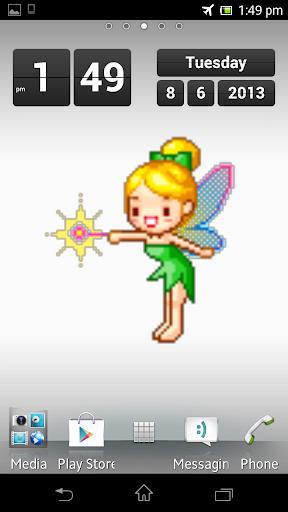 Green Fairy Live Wallpaper