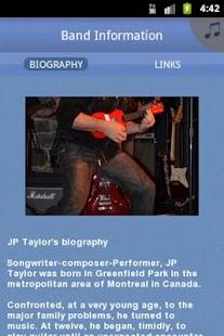 JP Taylor Band - screenshot thumbnail