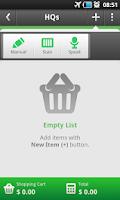 Screenshot of ToShop - Shopping List