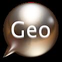 지오메신저 logo