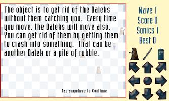 Screenshot of Daleks