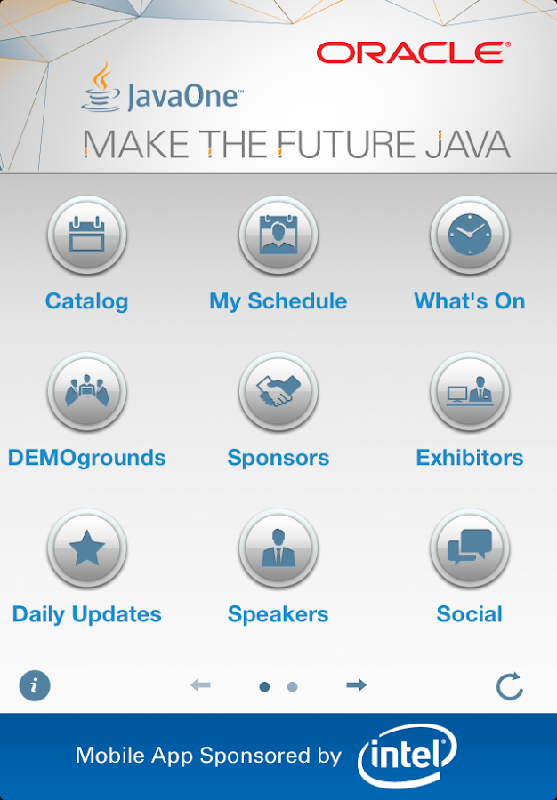 JavaOne San Francisco - screenshot