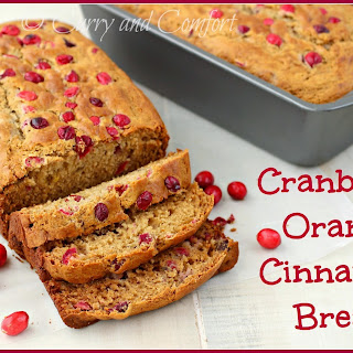 Cranberry Orange Cinnamon Bread