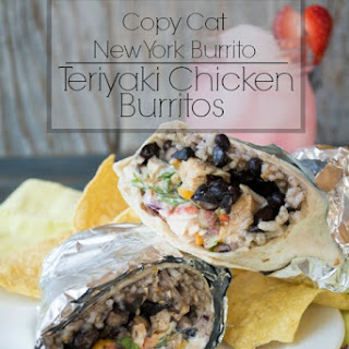 Teriyaki Chicken Burritos