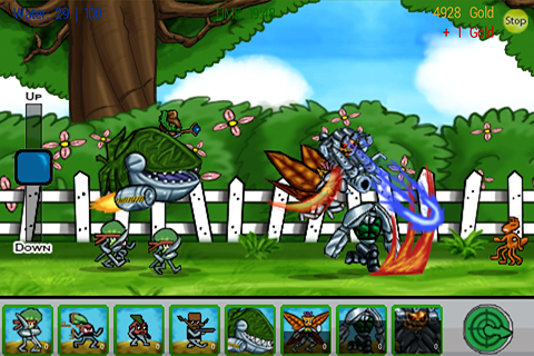 Garden Combat- screenshot