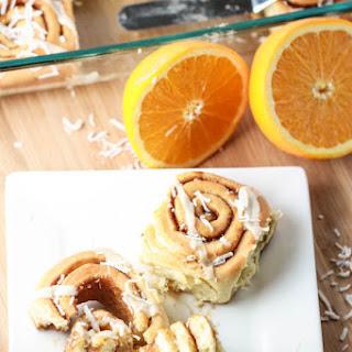 Coconut Orange Sweet Rolls.