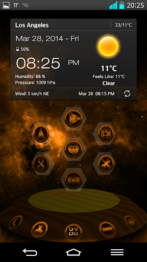 NEXT LAUNCHER THEME SUPERNOVAo