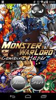 Screenshot of Combine Helper Monster Warlord