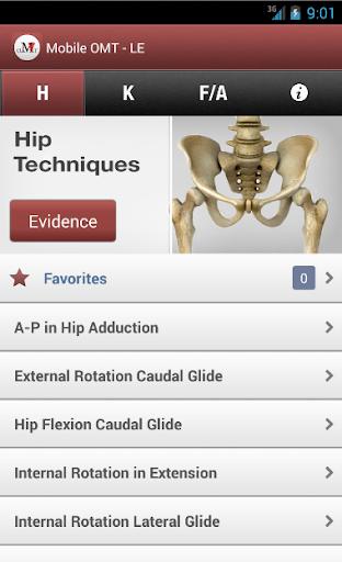 Mobileは 下肢をOMT法