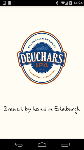 Deuchars - brewed in Edinburgh