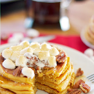 Sweet Potato Casserole Pancakes