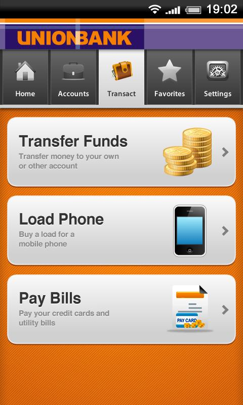 UnionBank UMobile- screenshot