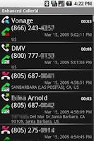 Screenshot of Who Called?