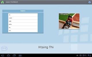 Screenshot of Z_L-Lingo Learn Burmese Fr HD