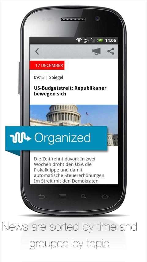 Newscron - all news in one app - screenshot