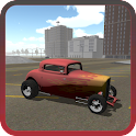 Fire Hot Rod Racer icon
