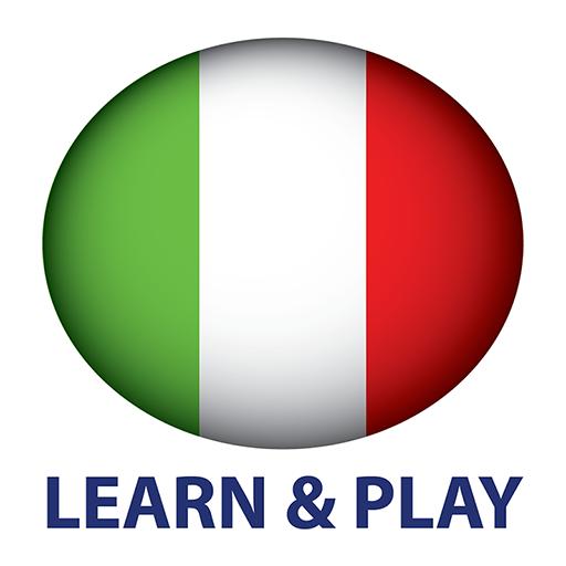 遊玩和學習。意大利語 + LOGO-APP點子
