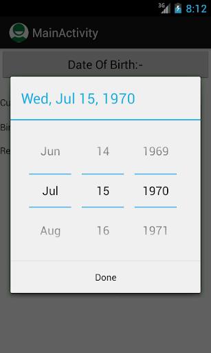 【免費生活App】Age Calculater-APP點子
