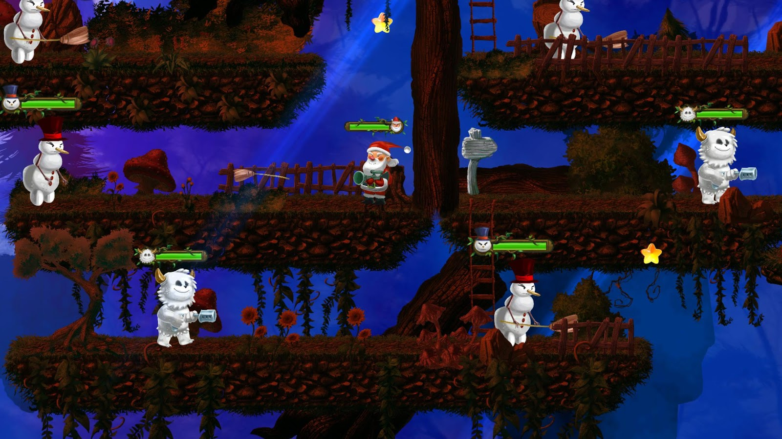 superhero santa claus christmas game for kids free android apps