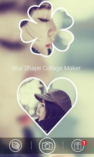 Blur Shape Collage Maker