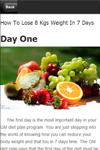Diet Plan - Weight Loss 7 Days - screenshot thumbnail