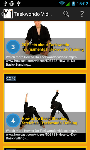 Taekwondo Video Training
