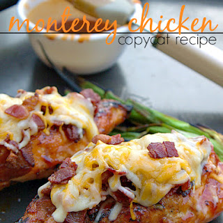 Monterey Chicken {Copycat Recipe}
