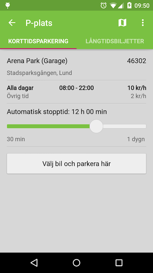 Parkster - screenshot