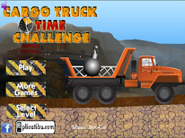 Screenshot of Cargo Truck Time Challenge