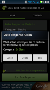 SMS Text Auto Responder FREE- screenshot thumbnail