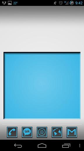 Holo Blue HiLite Icons