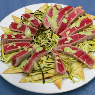 Sweet and Spicy Seared Tuna