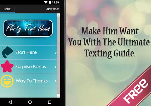 Flirty Text Ideas