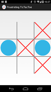 Frustrating TicTacToe - screenshot thumbnail
