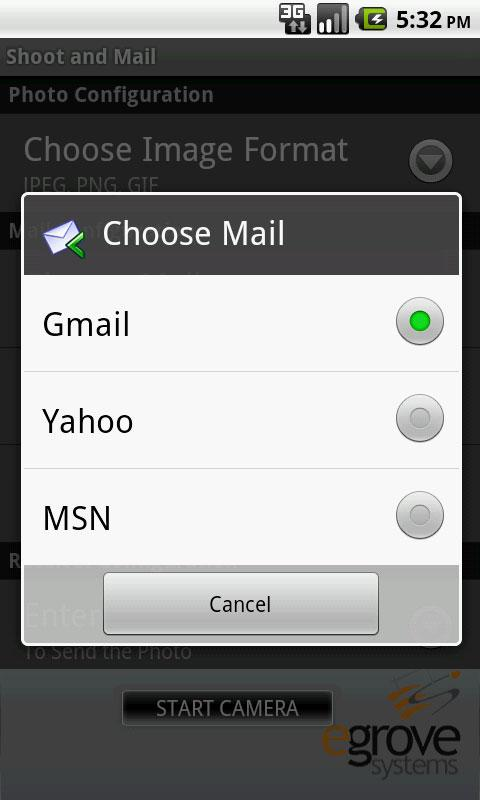 Shoot and Mail - screenshot