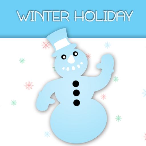 冬季鍵盤假日 LOGO-APP點子