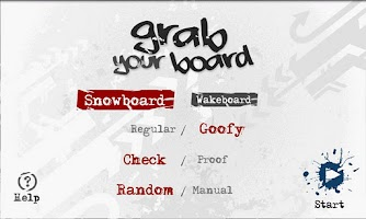 Screenshot of 🌄 Grab Your Board | Snowboard