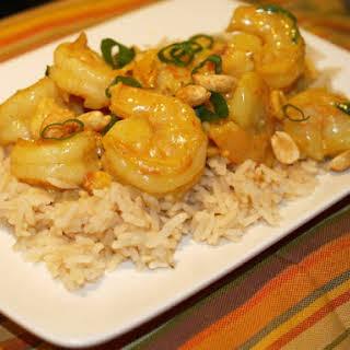 Light Lemon Curry Shrimp.