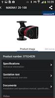 Screenshot of Grundfos GO Remote