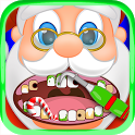 Christmas Dentist Office Santa icon