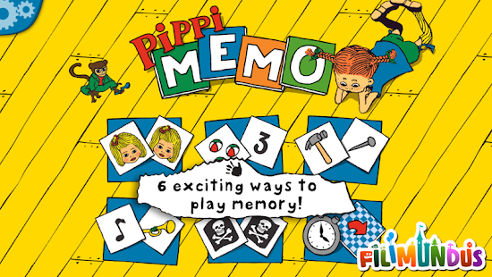 Pippi Longstocking's Memo- screenshot thumbnail
