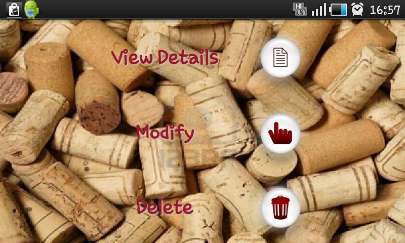 My Wine Donation- screenshot