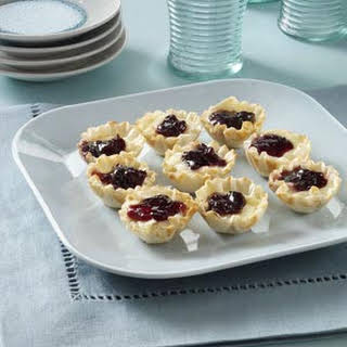 Brie Phyllo Cups.