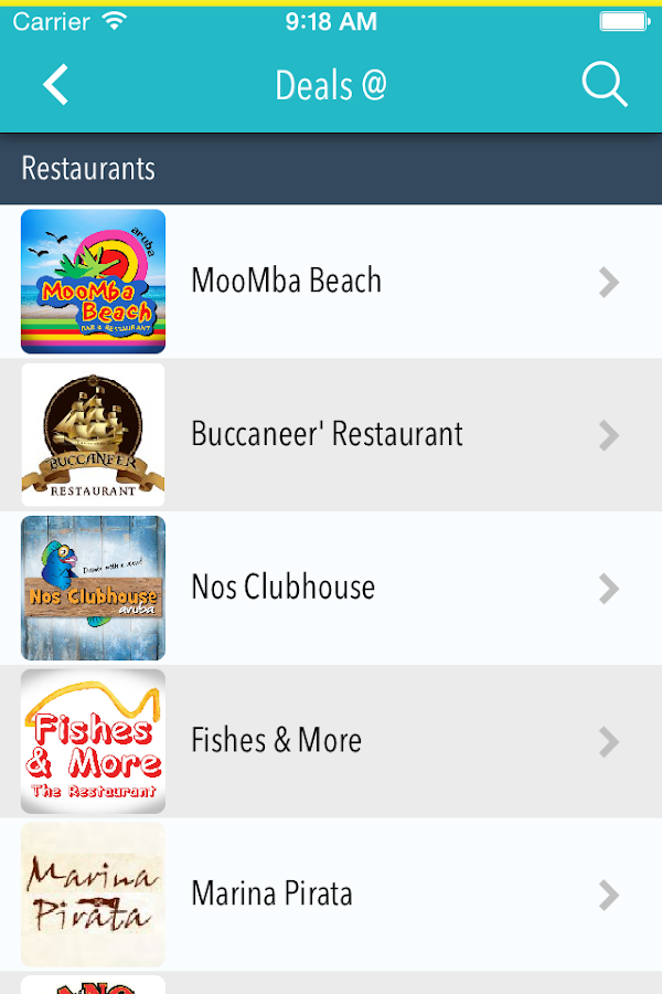 Deals Aruba- screenshot