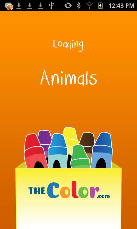 Coloring Book of Animals Free - screenshot