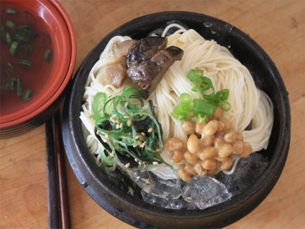 Cold Somen Noodles with Dipping Sauce Recipe