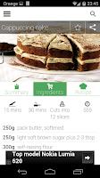 Screenshot of 100 cakes & bakes recipes