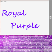 GO Keyboard Royal Purple Gold
