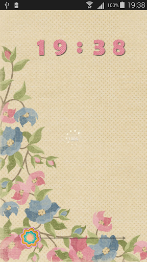 Ancient Flowers HD Go Locker