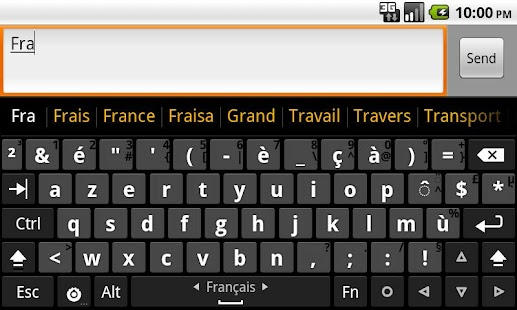 French dictionary (Français) - screenshot thumbnail